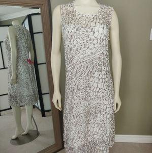 Alison Sheri white dress